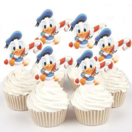 1 papieren topper Donald Duck baby