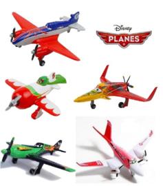 10st. figuren Planes gemengd