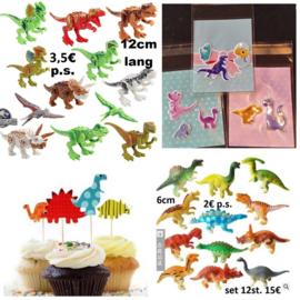 Dinosaurussen - complete lijst