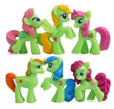set My Little Pony C (6 paardjes) 4*4cm