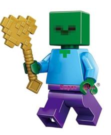 1 mini figuur Zombie compatibel met Lego