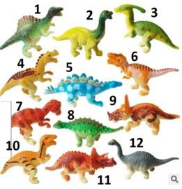1 mini Dino A 6cm naar keuze