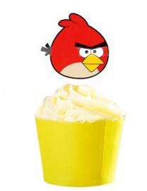 1 papieren topper Angry Birds