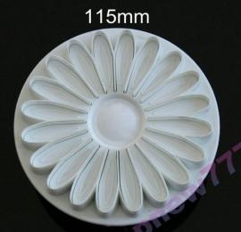 1 Chrysanten grote plunger cutter bloem 11,5cm