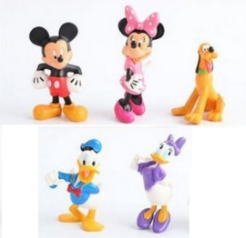 set B 5 figuren Mickey & Co. 7-8cm