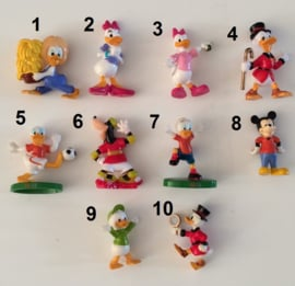 1 mini figuur Mickey Mouse & Vrienden 4-5cm naar keuze