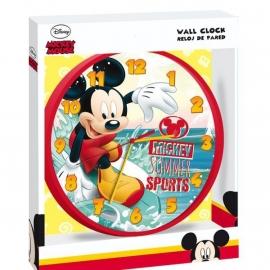 wandklok Mickey Mouse
