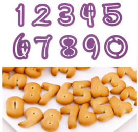 Uitsteker cijfers Disney (set 10 stuks) 3cm