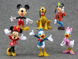 Mickey  & vrienden - complete lijst