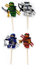 prikkers Ninjago C (set van 4)