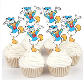 1 papieren topper Donald Duck
