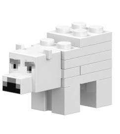 1 mini figuur Polar Bear
