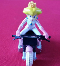 1 figuur Prinses motor 5cm