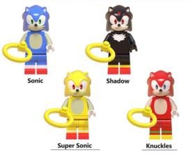 set Sonic B (4 poppetjes) - compatibel met Lego