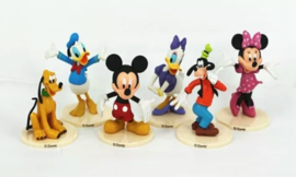set D Mickey & Co. (5 figuren) 7-8,5cm