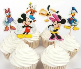 1 Prikker Mickey set B - personage en stokje naar keuze
