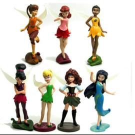 set B 7 figuren Tinkerbell 5-7cm