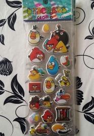 1 Stickervel Angry Birds