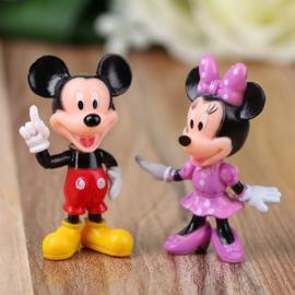 set E Mickey & Minnie 5,5cm (2 figuren)