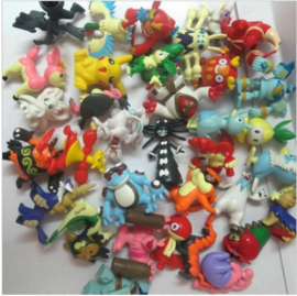 5 mini figuren Pokemon 2cm uit set E