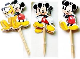 set Prikkers Mickey (3st.) - stokje naar keuze
