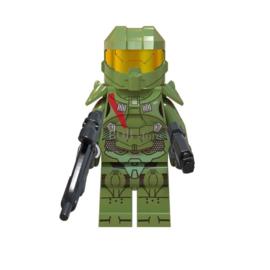 1 poppetje Halo warrior