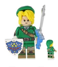 1 poppetje Link - Zelda