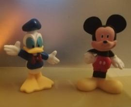 set A Mickey & Co.  6,5cm (2 figuren)