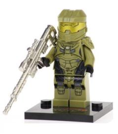 1 poppetje Halo warrior B