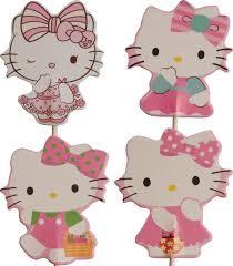 Set B prikkers Hello Kitty (4st.) - stokje naar keuze