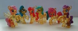set My Little Pony E (6 paardjes) 4*4cm