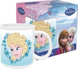 1 Porselein mok met doos Elsa