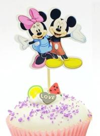 1 Prikker Mickey en Minnie C - stokje naar keuze