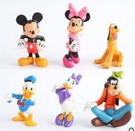 set B 6 figuren Mickey & Co. 7-8cm
