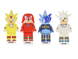 set Sonic C (4 poppetjes) - compatibel met Lego