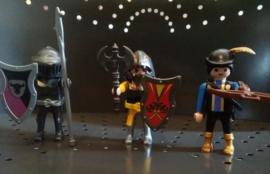 Playmobil set 3 poppetjes