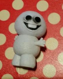 1 figuur Sneeuwpoppetje 5cm