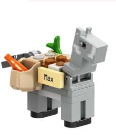 1 mini figuur Donkey