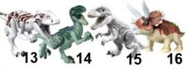 1 figuur Dino B - compatibel met Lego - naar keuze