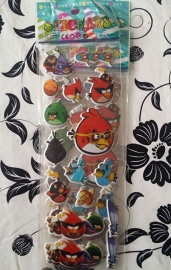 1 Stickervel Angry Birds A