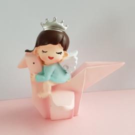 1 figuur Prinses baby 8cm
