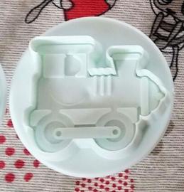 1 uitsteker trein 5x5,5cm