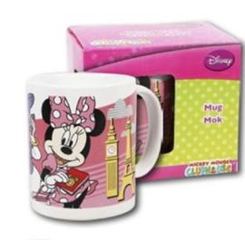 1 Porselein mok met doos Minnie Mouse