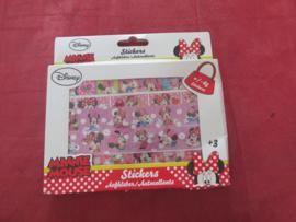 1 dosje stickers Minnie Mouse - laatste stuk
