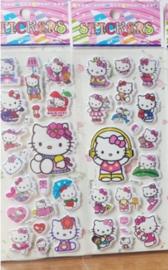 1 stickervel Hello Kitty