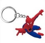 traktatie pakket: sleutelhangers Spiderman 4cm (set van 10)