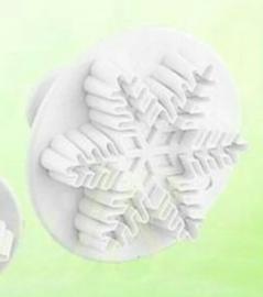 1 Sneeuwvlok plunger cutter 2,5cm