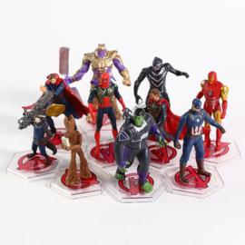 1 Figuur Marvel Helden 7-9cm - uit set D