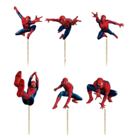 prikkers Spiderman C (set van 6)