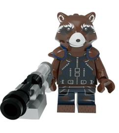 1 poppetje Guardians of the Galaxy - Rocket Raccoon